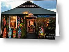 Maui Gallery Greeting Card