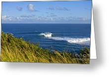 Maui, Jaws Landscape Greeting Card