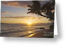 Maui, Kaanapali Beach Greeting Card