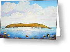 Maui Molokini Magic Greeting Card