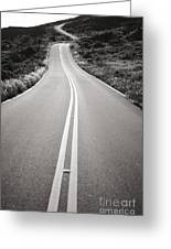 Maui Road Greeting Card