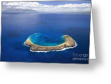 Maui, View Of Islands Greeting Card