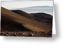 Mauna Kea Or Mars? Greeting Card by Jennifer Ancker