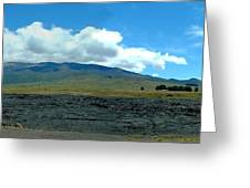 Mauna Loa Panorama Greeting Card