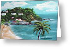 Maunabo Puerto Rico Greeting Card by Luis F Rodriguez