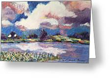 Maurice River Heaven's Delight Greeting Card