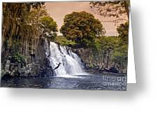 Mauritius Rochester Falls Greeting Card