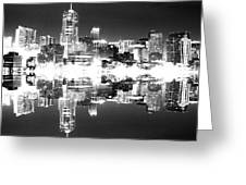 Maxed Cityscape Greeting Card