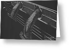 Maximal Minimalist 1935 Cord Greeting Card