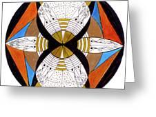 May-bee Greeting Card
