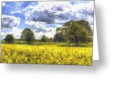 May Farm Art Greeting Card