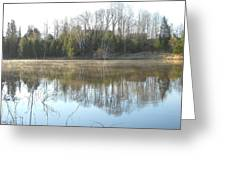 May Morning Mississippi River Greeting Card