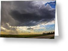 May Nebraska Storm Cells Greeting Card