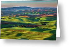 May On The Palouse  Greeting Card