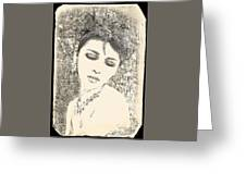 Maya Greeting Card by Chris Armytage