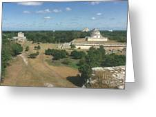 Mayan Observatory, Mexico Greeting Card