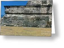 Mayan Pyramid, C450 A.d Greeting Card