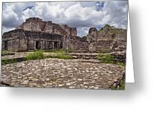 Mayan Ruins 1 Greeting Card