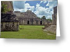 Mayan Ruins 3 Greeting Card