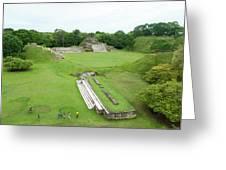 Mayan World Greeting Card