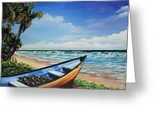 Mayaro Beach Greeting Card
