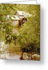 Mabry Mill 3 Greeting Card