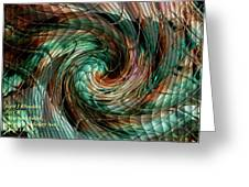 Mayhem Swirl Behind The Safety Net Catus 1 No. 1 H A Greeting Card