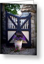 Maymont Gate Greeting Card
