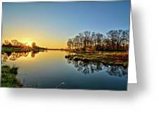 Maynes Grove Spring Rise Greeting Card