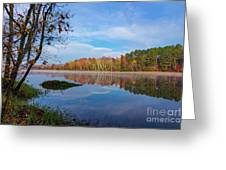 Mayor's Pond, Autumn, #1 Greeting Card