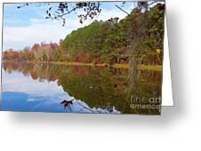 Mayor's Pond, Autumn, #7 Greeting Card