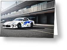 Mazda Rx-7 Greeting Card
