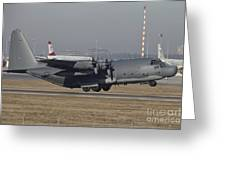 Mc-130h Combat Talon II Of The U.s. Air Greeting Card