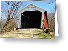 Mcallister's Bridge Greeting Card
