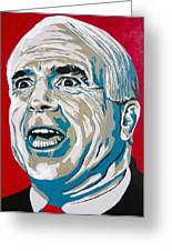 Mccain Greeting Card