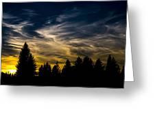 Mccall Sky Night Greeting Card