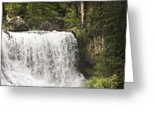 Mccloud Upper Falls Greeting Card