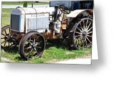 Mccormick-deering 10-20 Tractor Greeting Card