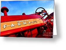 Mccormick Farmall 450 Greeting Card