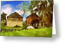 Mccormick Mill Greeting Card