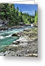 Mcdonald Creek 2 Greeting Card