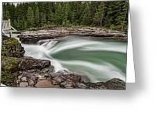 Mcdonald Creek Greeting Card