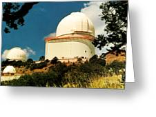 Mcdonald Observatory At Mt. Locke Greeting Card