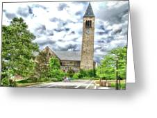Mcgraw Tower Cornell University Ithaca New York Pa 10 Greeting Card