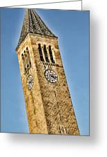 Mcgraw Tower Greeting Card