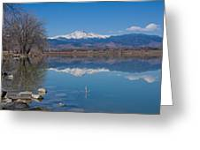 Mcintosh Lake Reflections Greeting Card