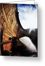 Mckays Dam Waterjet Greeting Card