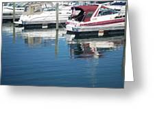 Mckinley Marina 1 Greeting Card