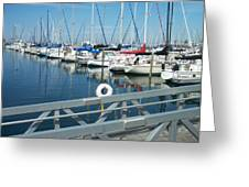 Mckinley Marina 4 Greeting Card