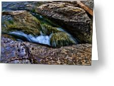 Mckinney Falls State Park-lower Falls 4 Greeting Card